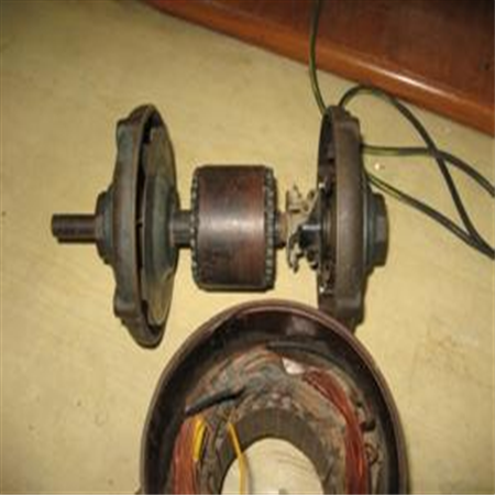 Rewinding of Electric motors(rotor)